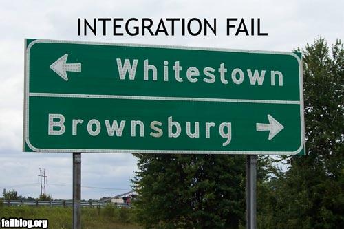 Integration FAIL